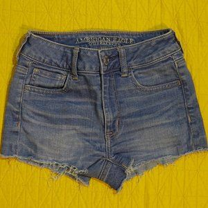 American Eagle Hi Rise Shortie, Super Stretch 00